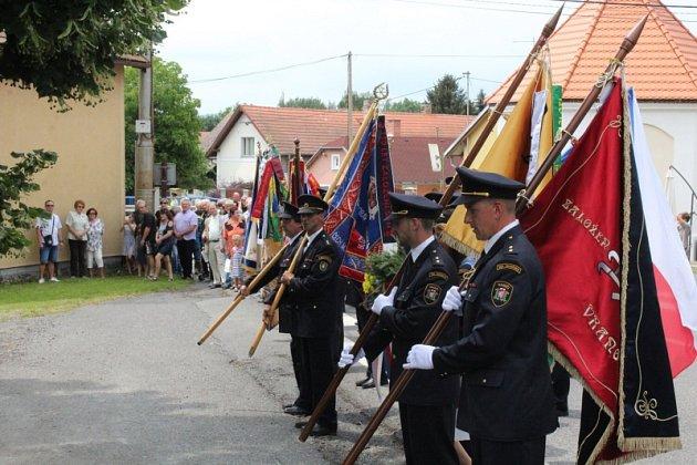 Obec slavila hned několik výročí najednou.