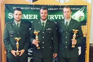 Jinecké družstvo v obsazení Václav Zdražila, Martin Pošta a Ondřej Rácz obsadilo 3. místo v závodech s názvem Summer Survival 2019.