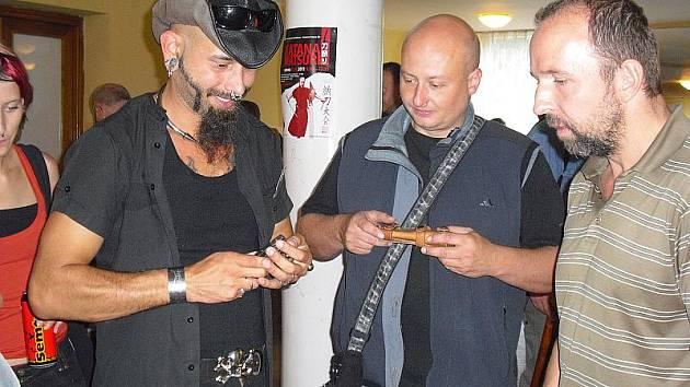 Výstava nožů v Příbrami.