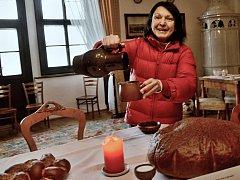 Vánoce na zámku: tradiční zvyky a jesličky pro děti .