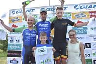 Double. Příbramští cyklisté Martin Boubal a Jiří Pokorný obsadili první dvě místa v devátém závodě Giant ligy.