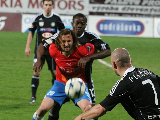 Gambrinus liga: Příbram - Plzeň (0:3).