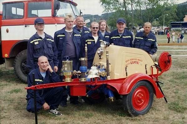 Jednotka sboru dobrovolných hasičů Kamýk nad Vltavou.
