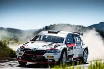 Jan Černý ve voze Škoda Fabia Rally2 Evo