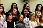 Vánoční koncert v jinecké škole.