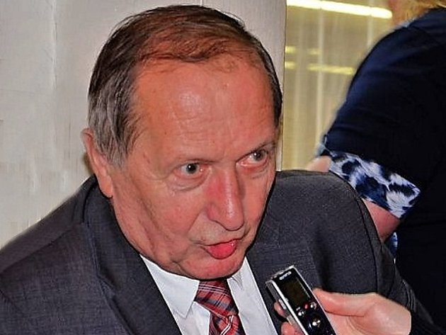 Senátor a starosta Sedlčan Jiří Burian.