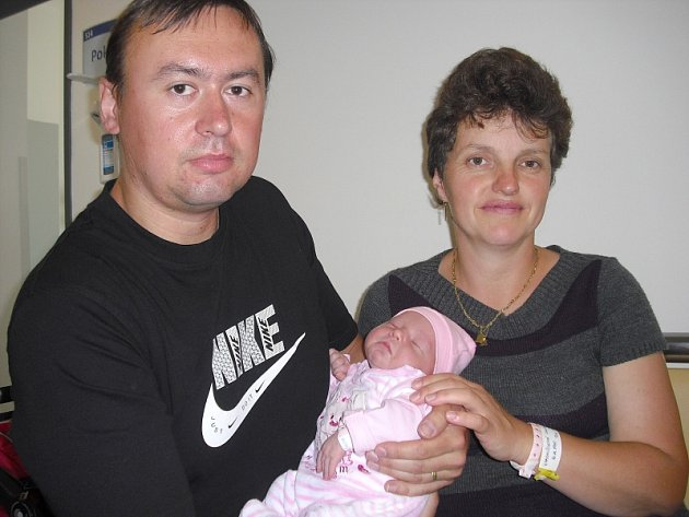 V pátek 3. srpna maminka Zdeňka a tatínek Stanislav z Dobříše přivítali na světě dcerku Alenku Kvasničkovou, která v ten den vážila 3,90 kg  a měřila 53 cm. Chránit malou sestřičku bude čtyřletý bráška Honzík a dvouapůlletý Lukášek.