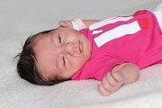 Šarlota Chadrabová se narodila 18. prosince s váhou 3,51 kg a mírou 50 cm Stefanii a Emanuelovi z Příbrami.