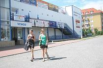 Sportovní hala v Příbrami.