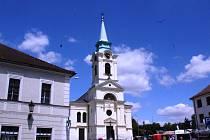 Kostel sv. Vojtěcha na Březových Horách v Příbrami.