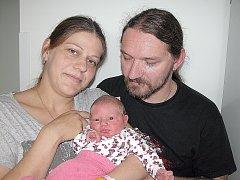 Elena Suchopárová se mamince Naděždě a tatínkovi Tomášovi z Příbrami narodila v pátek 19. června, vážila 3,79 kg a měřila 51 cm. Chránit sestřičkou budou bratři – čtyřapůlletý Ludvík a dvouapůlletý Toník.