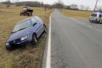 Policie hledá svědky nehody u Petrovic na Sedlčansku.
