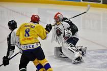 Hokejový duel Příbram - Písek.