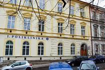 Poliklinika Na Příkopech v Příbrami.