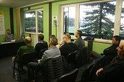 1. FK Příbram uspořádal v tiskovém centru besedu, na které se vedení klubu sešlo se svými fanoušky.