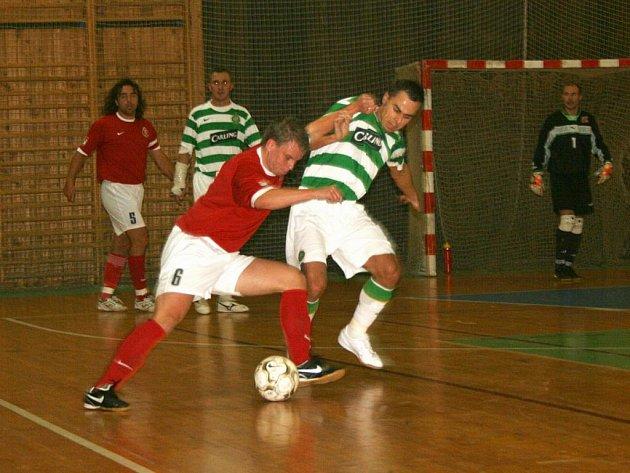 Divize futsalu: FC 83 Příbram - Celtic Kladno.