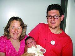 V neděli 11. května maminka Simona a tatínek Karel z Příbrami přivítali na světě synka Filípka Güntera, vážil 3,85 kg a měřil 53 cm. Vyrůstat bude s dvouapůlletou sestřičkou Elenkou.