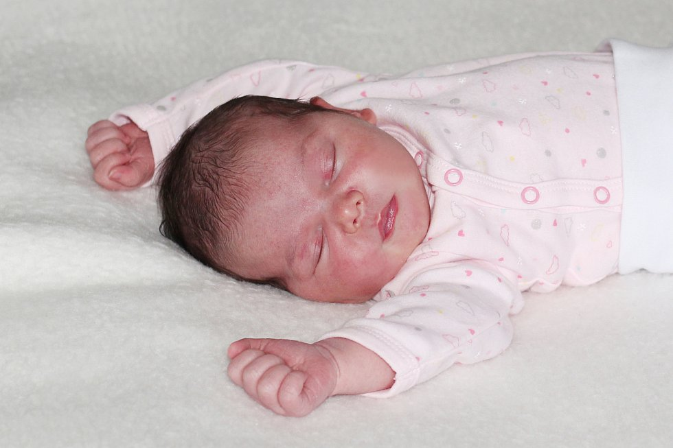 Ella Ščerbanovská se narodila 25. prosince 2018 s váhou 3,96 kg a mírou 52 cm Ivetě a Jiřímu. Doma už se těší Jiřík (2,5).