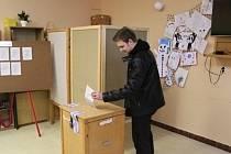 V Příbrami byl o volby zájem podobný jako na podzim.