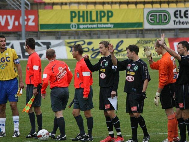 Gambrinus liga: Příbram - Teplice (0:3).