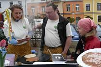 LÍVANEČKY podle staročeské receptury nabízeli manželé Kořínkovi.