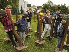 Předání Oázy klidu a pohybu dětem.