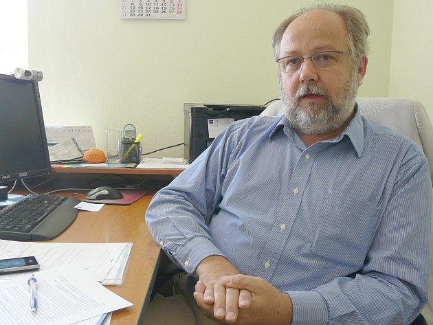 Roman Vanžura, ředitel sedlčanské Mediterry.