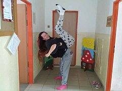 Dětem v Základní škole a mateřské škole Rosovice se teplákový den líbil.