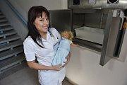 Babybox v Oblastní nemocnici Příbram funguje už od roku 2008. Původní zařízení vystřídal babybox nové generace.