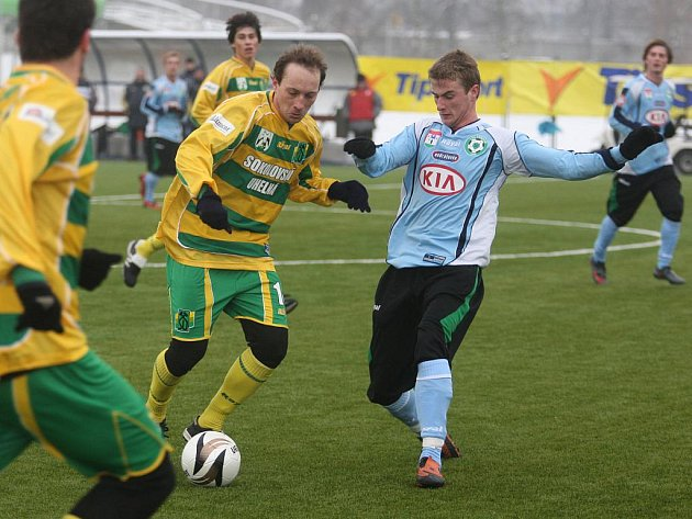 Tipsport liga: Příbram - Sokolov (0:7).