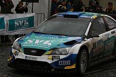 Vítězná posádka 39. ročníku SVK Rally Příbram Dohnal/Ernst