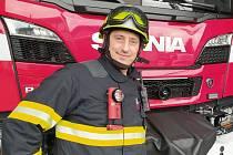 Dobříšský hasič Miroslav Beránek.