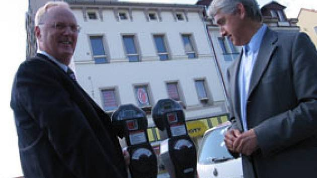 Nové parkovací automaty v Dobříši