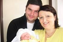 Ve čtvrtek 20. listopadu přivítala maminka Radka spolu s tatínkem Václavem z Mníšku pod Brdy na světě své první štěstíčko – dcerku Aničku Matějkovou, která v ten den vážila 3,42 kg a měřila 53 cm.