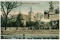 Zámek Březnice, r. 1908.