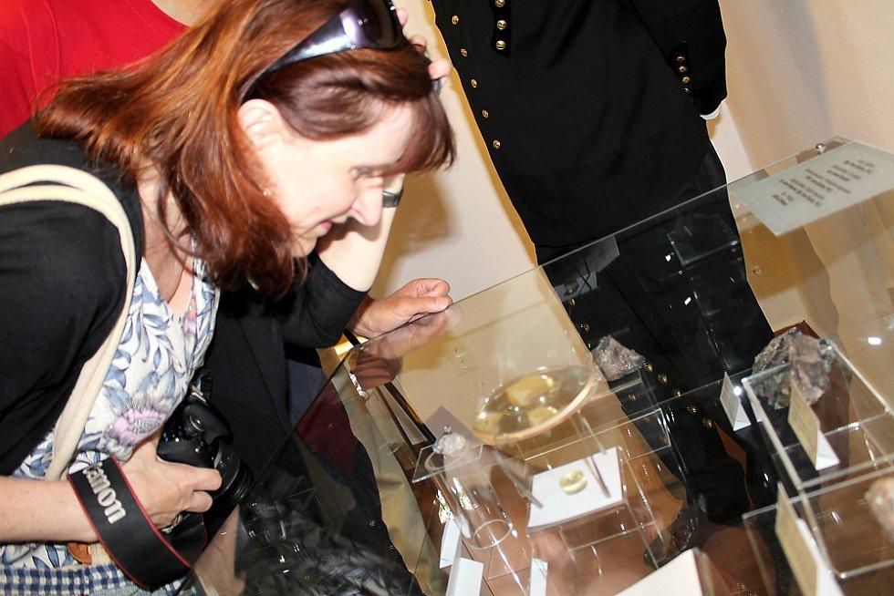 Prokopská pouť na Březových Horách v Příbrami, při které si zájemci mohli prohlédnout nový minerál Příbramit ve výstavní síni v areálu dolu Vojtěch.