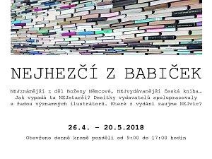 Vystaveno je 250 vydání Babičky Boženy Němcové, nejvydávanější české knihy.