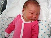 Julie Blahnová se narodila 8. listopadu s váhou 3,940 kg a mírou 51 cm Janě a Michalovi z Buku.