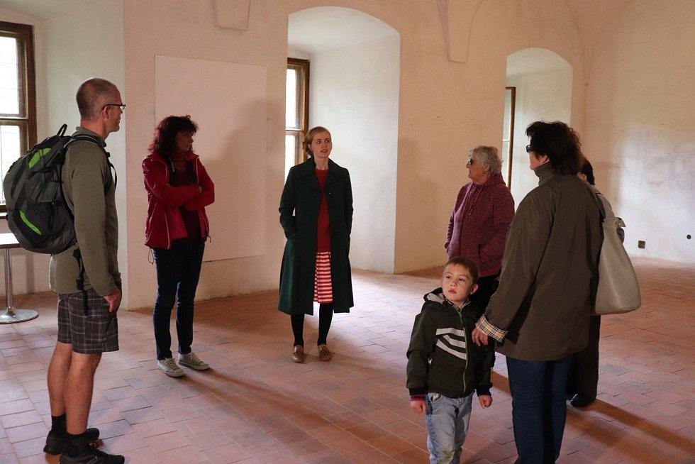 Každou sobotu je možné si zámek v Rožmitále pod Třemšínem prohlédnout.