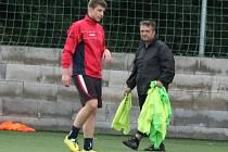 Úvodní trénink SK Spartak Příbram na sezonu 2014-15.