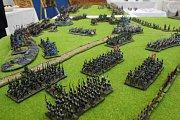 Jiní se věnují výrobě vojenských panoramat.