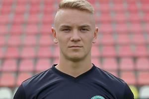 Největší hvězda 1. FK Příbram v sezoně, záložník Jan Matoušek.