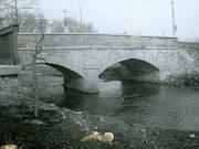 Most přes potok Mastník v Kosově Hoře.