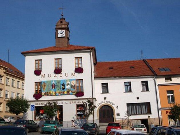 Městské muzeum Sedlčany.