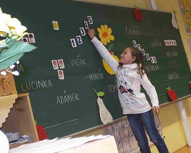 Zahájení školního roku ve věšínské základní škole.