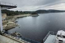 Vodní dílo Orlík 3.9. 2015.
