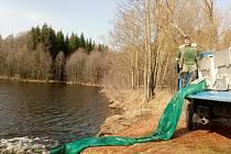Rybářská sezona začne 1. května i v Rožmitále pod Třemšínem.