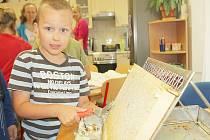 Mladí včelaři z bohutínské základní školy se dočkali sladké odměny při prvním letošním stáčení medu.