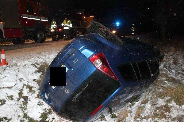 Nehoda uPříčov.