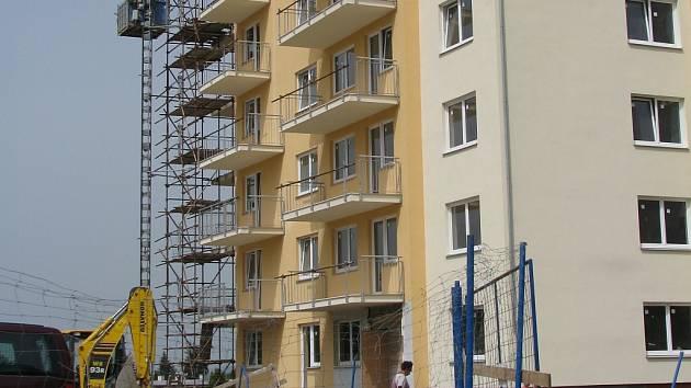 Nový bytový dům v Příbrami na Drkolnově